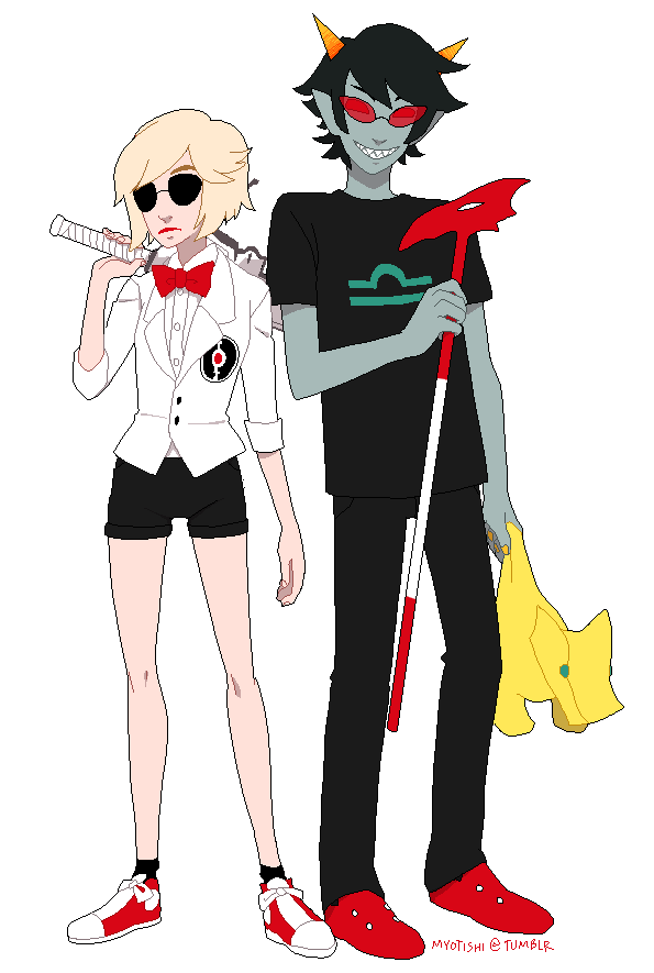 rule 63 dave and terezi by myotishi