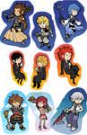 KH stickers