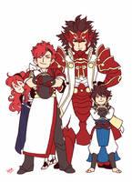 fates family by myotishi