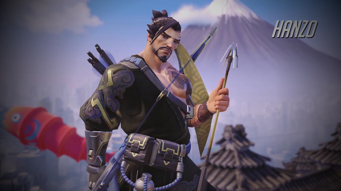 overwatch hanzo wallpaper - 1920 x 1080mac117 on deviantart
