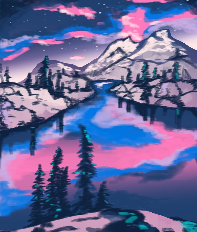 Background Practice by ObnoxiousGiraffe