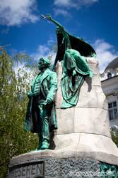 France Preseren monument 01 by djscorpio