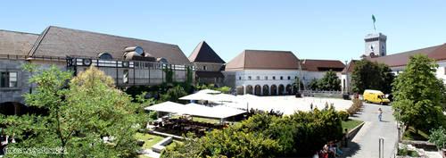 Ljubljana castle panorama by djscorpio