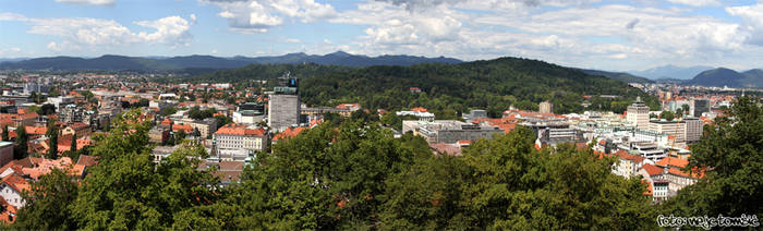 Ljubljana panorama by djscorpio