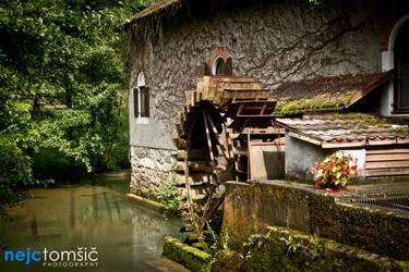 Mill in Klevevz by djscorpio
