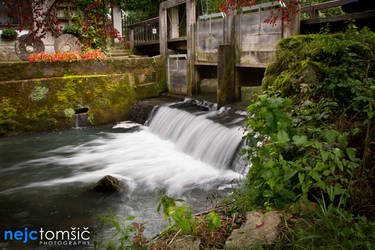 Mill and water by djscorpio