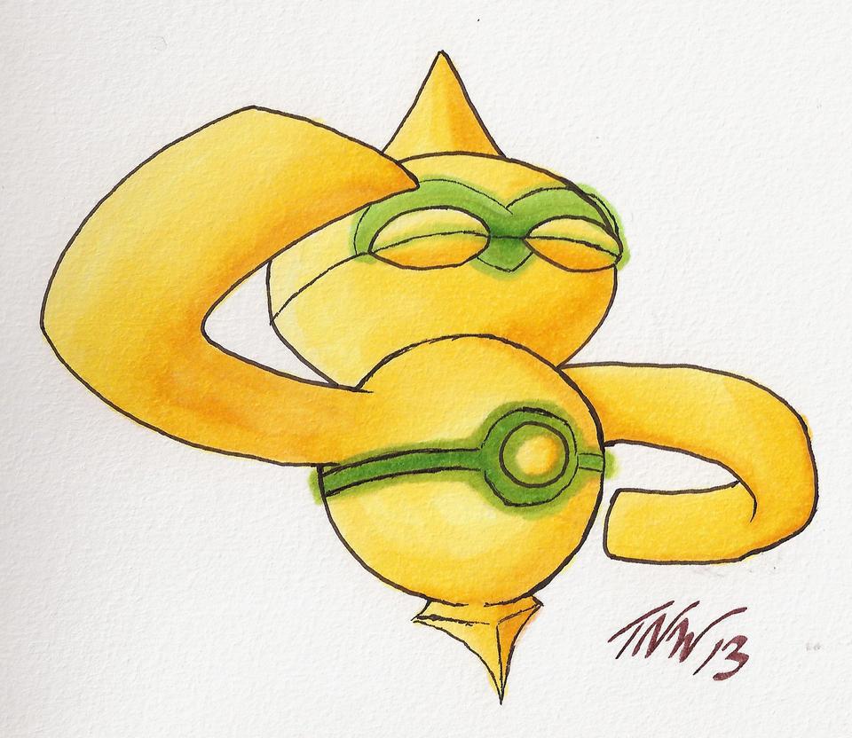 Pokemon Shiny Caterpie Images