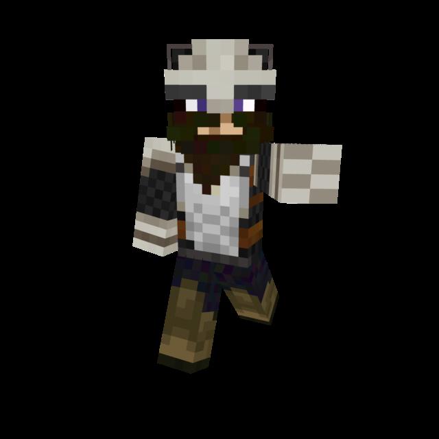 Silver Viking Minecraft Skin By Damnthatsmatt By