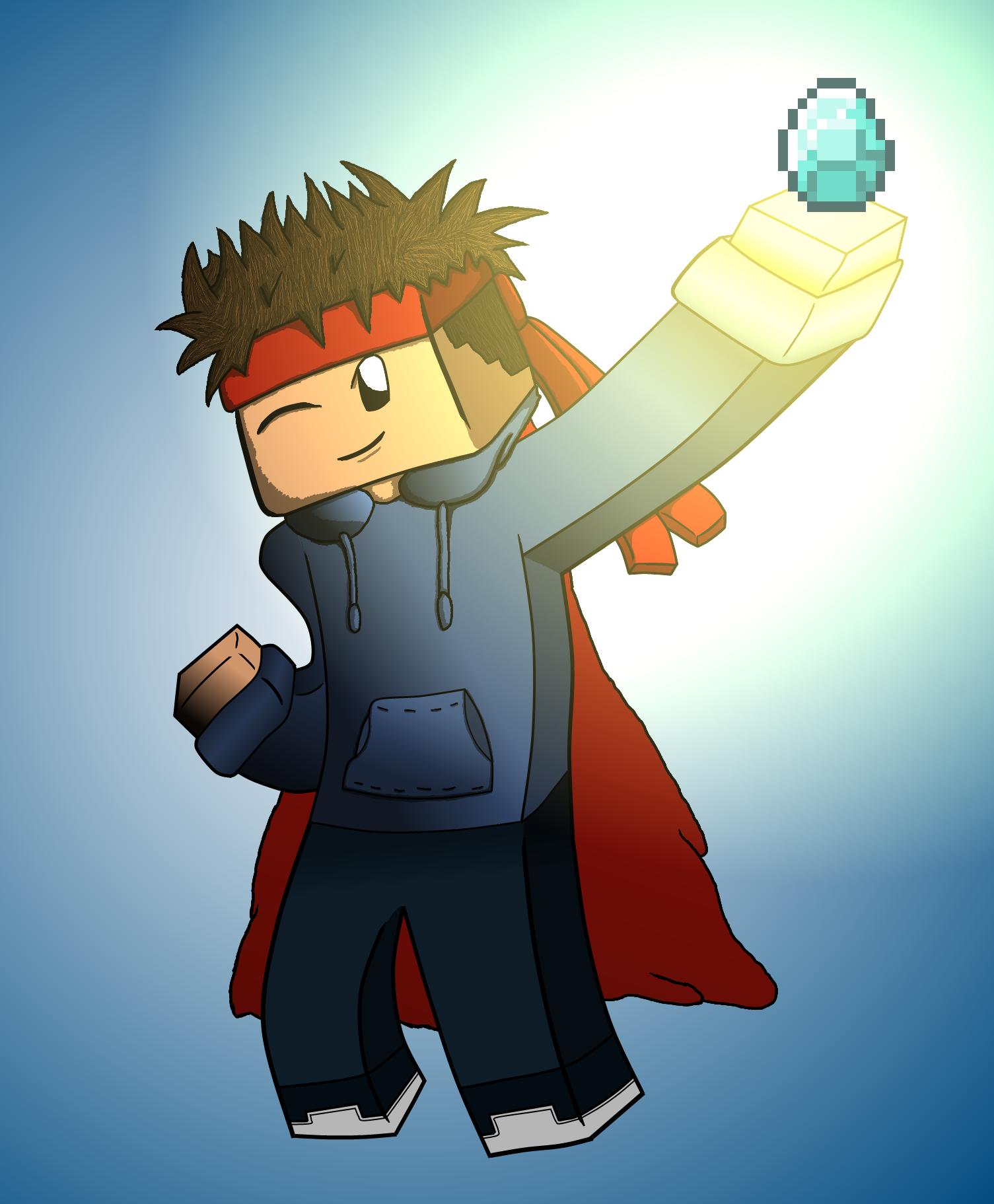 James Cameron S Avatar Logo: My Personal Drawn Minecraft Avatar By Damnthatsmatt On