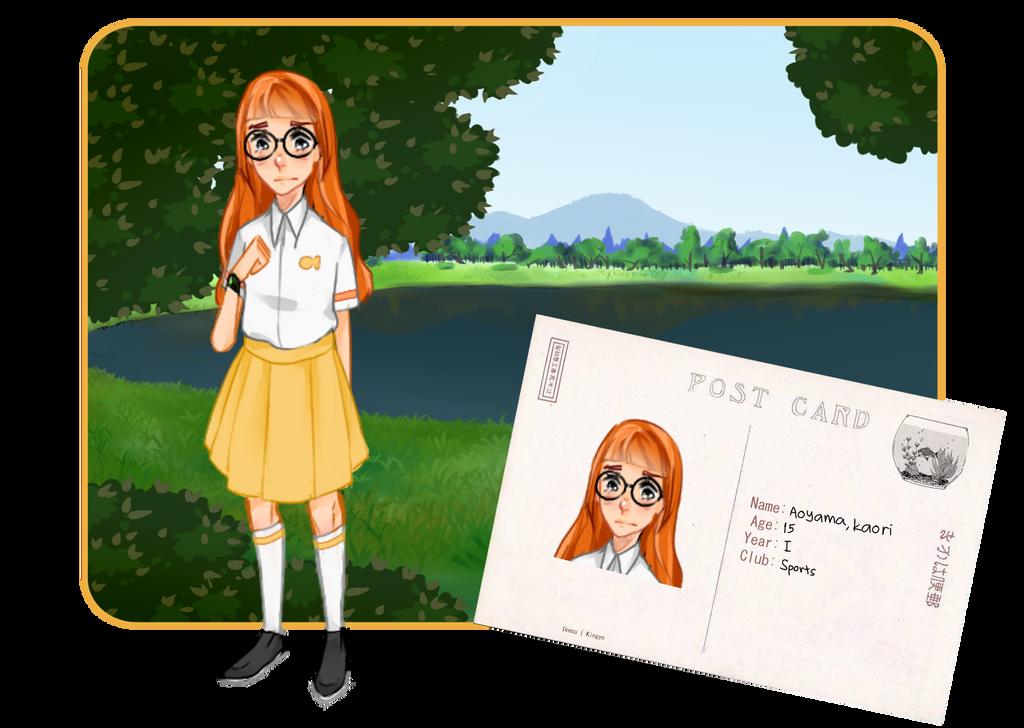 KH: Aoyama Kaori by Fluffpanda