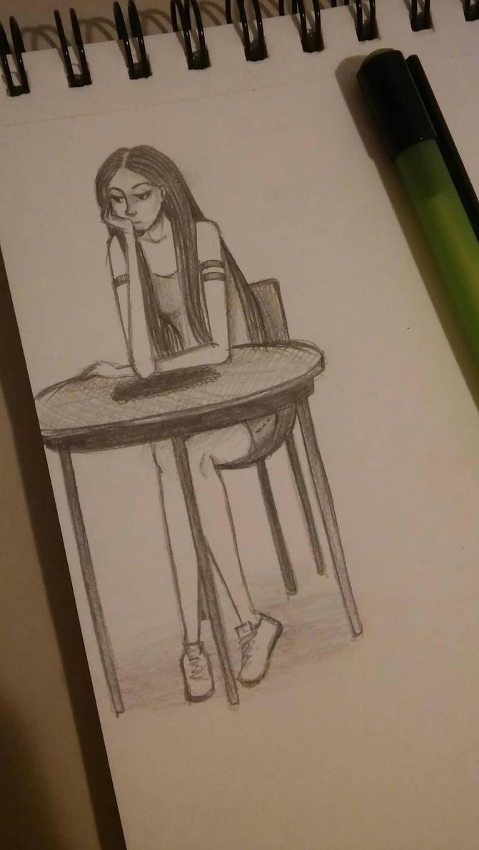 bored by akihua