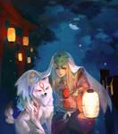 Okami - Summer Moon by einlee