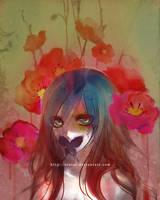 painted flower by einlee