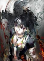 Raven Haired Samurai by einlee