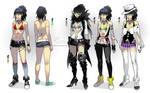 Raven - costume designs