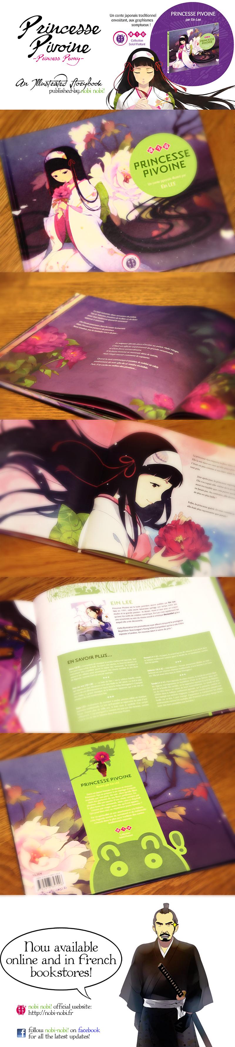 Princess Peony: Illust. book by einlee