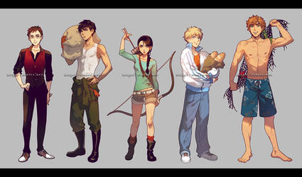Hunger Games by einlee