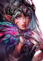 The Fairy Queen by einlee