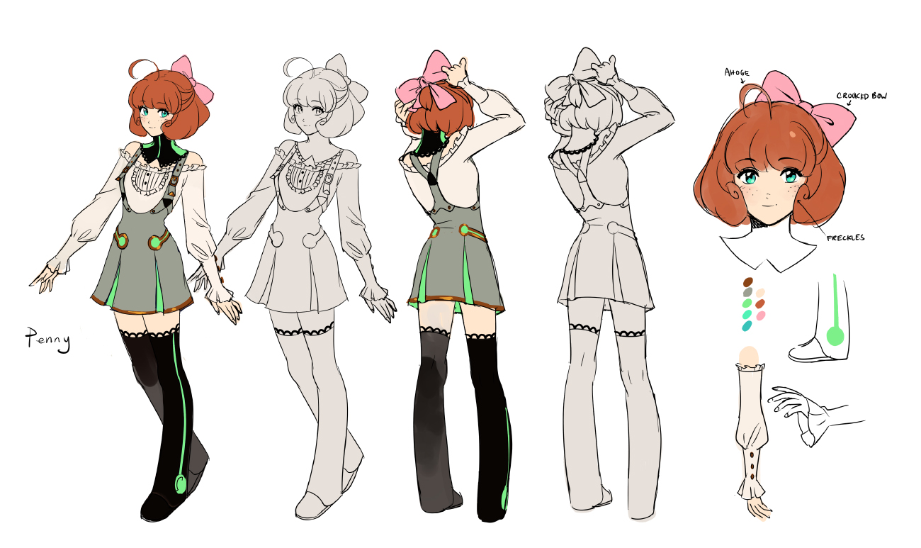 Penny concept by einlee on DeviantArt