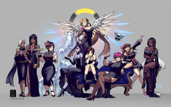 Overwatch Gowns