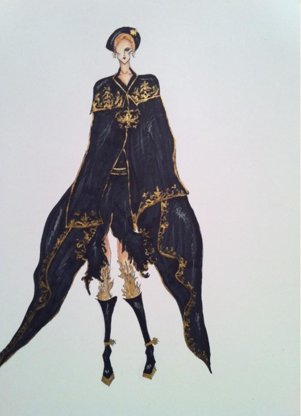 baroque fashion sketch by crystalqueen14 on deviantart