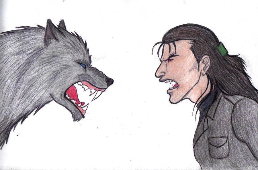 unfinish werewolf vs vampire by thehellcow on deviantart