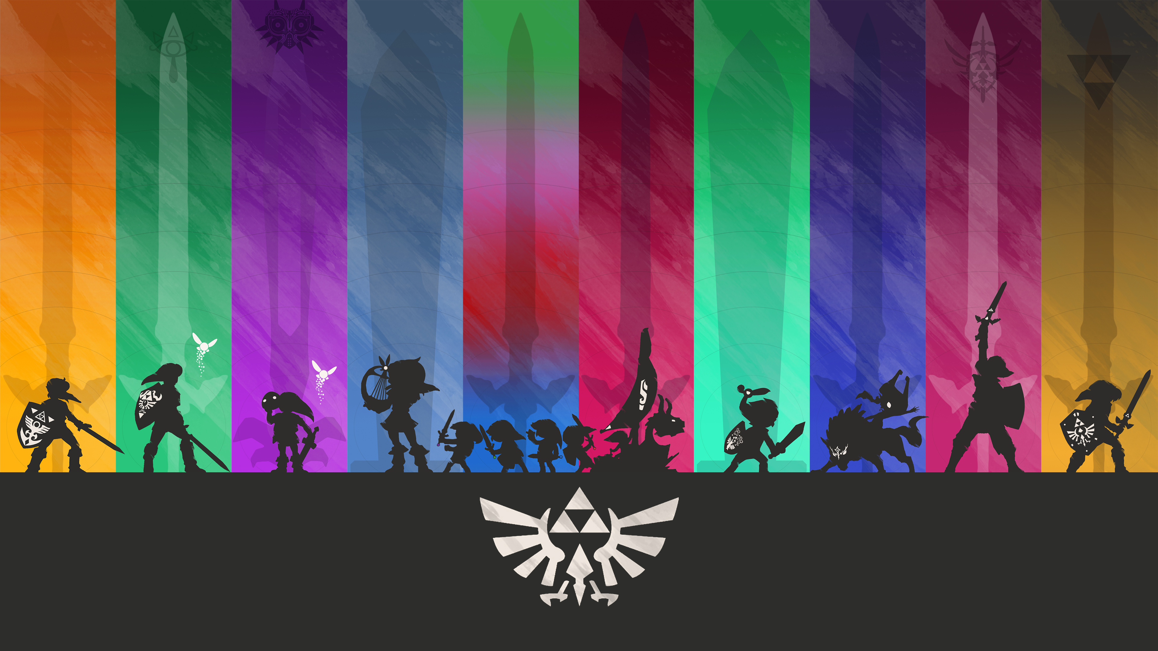 Minimalistic Legend of Zelda Wallpaper 4K by henrikpw on DeviantArt