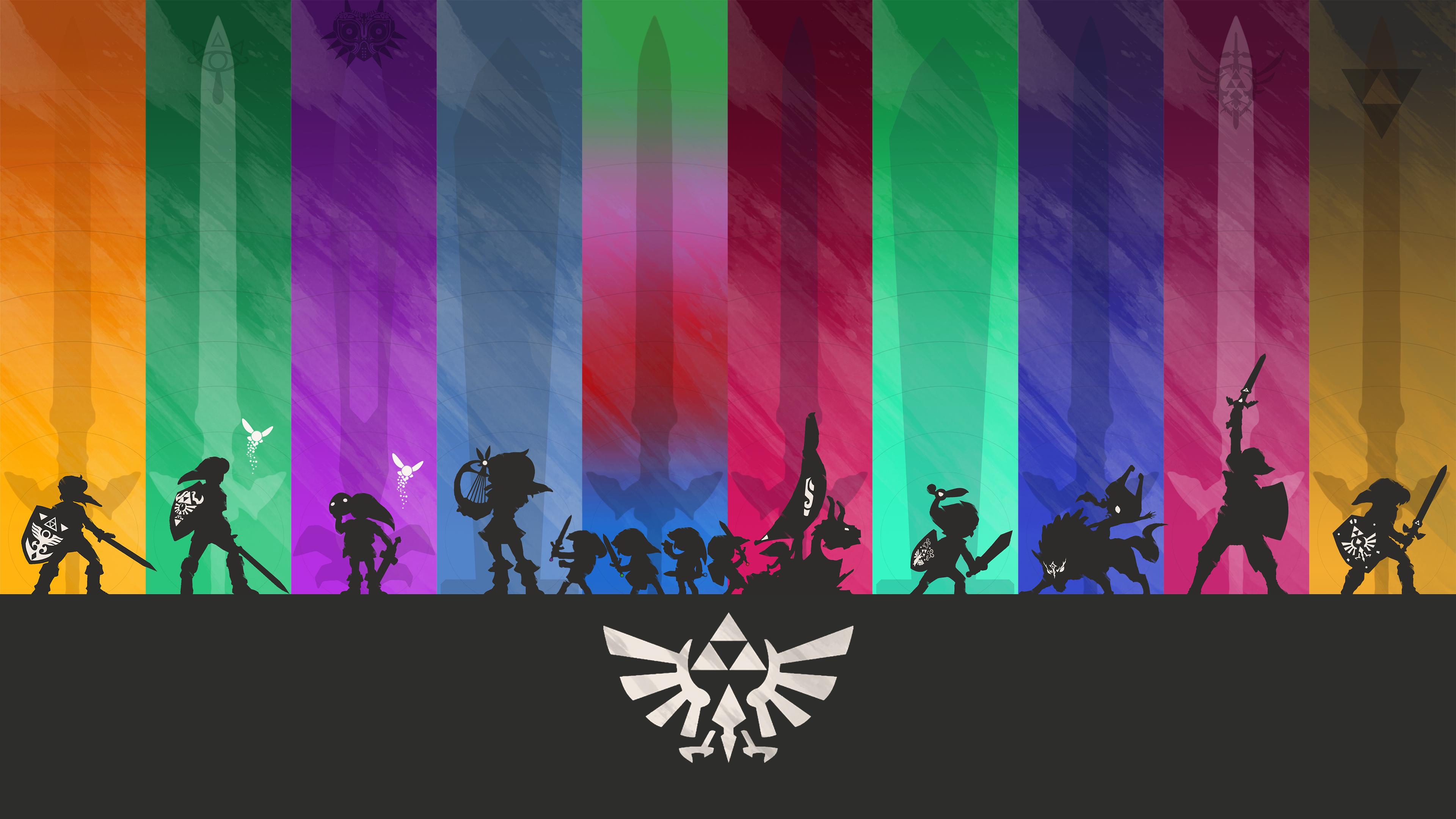 Minimalistic Legend Of Zelda Wallpaper 4k By Henrikpw On Deviantart