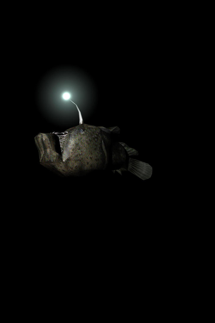 Angler fish by Angelina-Deveaux on DeviantArt for Anglerfish Light  156eri