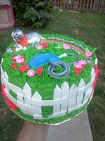 gardening cake view 2 by greeneyes3675