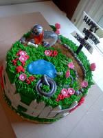 gardening cake view 3 by greeneyes3675