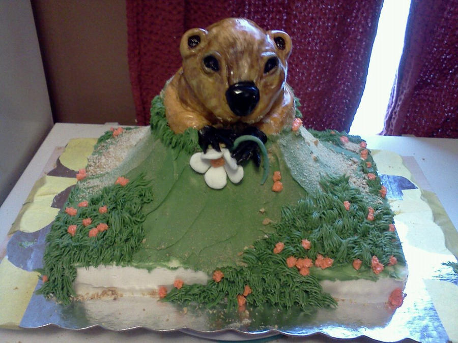 Groundhog Cake By Greeneyes3675 On DeviantArt