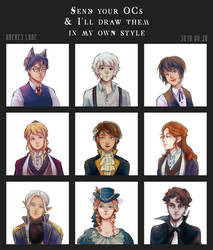 Friends' OCs by AmeresLare
