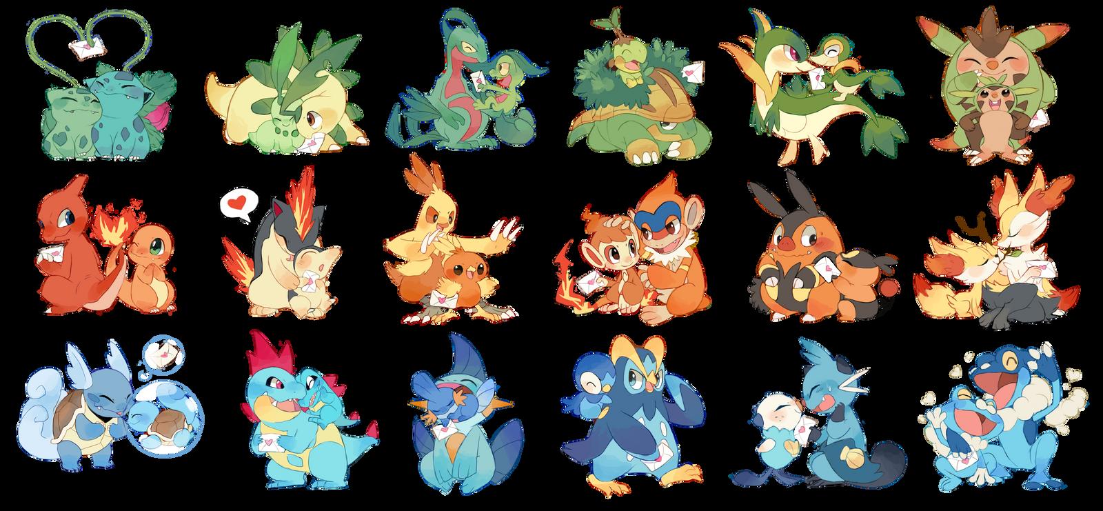 Pokemon V Day Letters 434264522