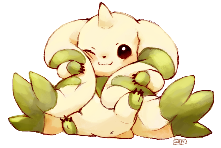 Terriermon by suikuzu