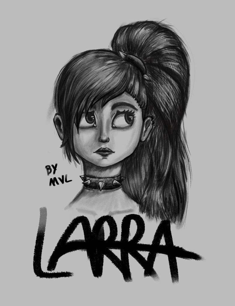 Larra portrait by marnicqvl