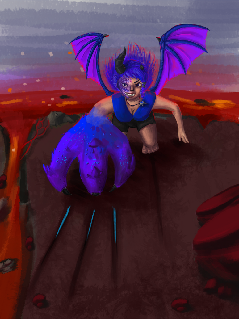 Saphira Vulcanic by marnicqvl