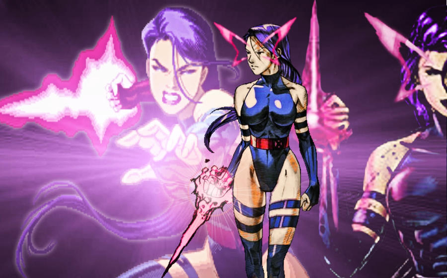 Marvel Vs Capcom 2 Psylocke By Edwards1206