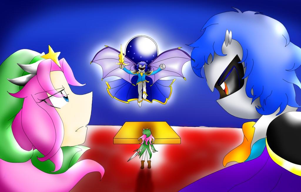 Kirby vs Meta knight by YumeiFuyuki on DeviantArt