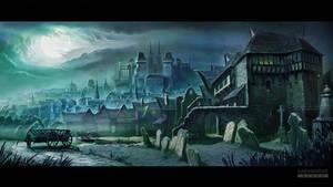 02a Gothic city environment