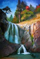 Canyon of the waterfalls Smolyan 2017 by Rizov