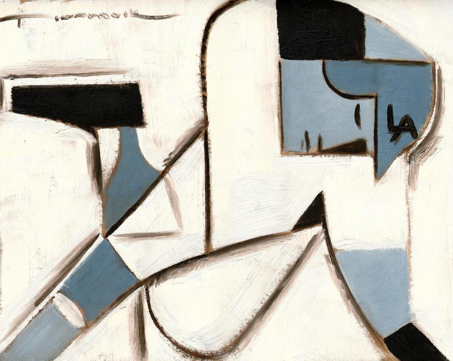 LA Dodger baserunner painting by TOMMERVIK