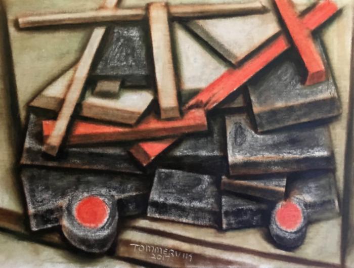 A-Team Van Painting by TOMMERVIK
