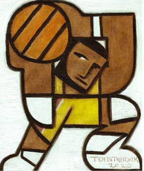 Lebron James Art Famous Basketball Player Painting