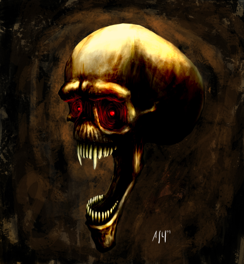 demonic skull upd. by 666Alex