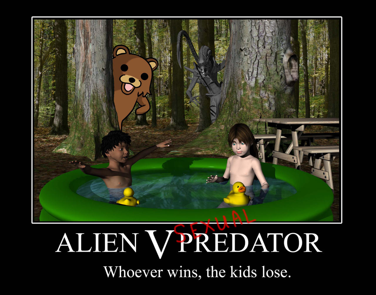 Alien vs Predator Meme
