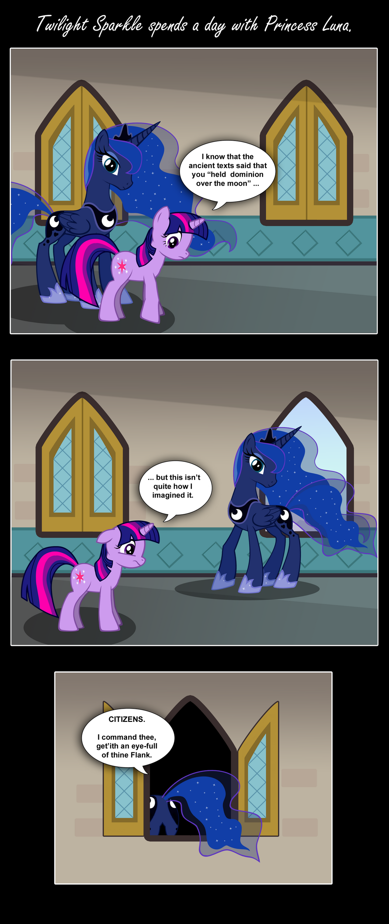 MLP:FIM Secrets of the Moon by PerfectBlue97