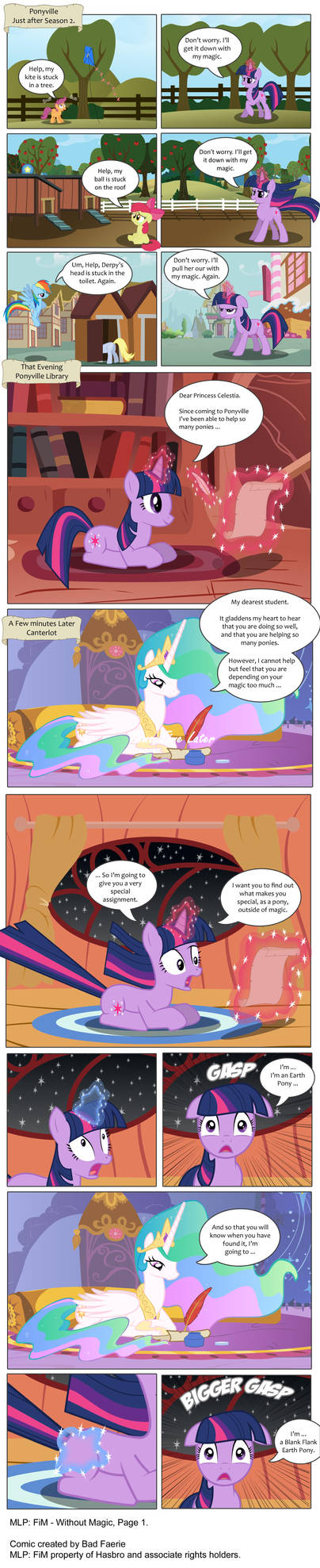 MLP: FIM - Without Magic - Part 1 (Edited)
