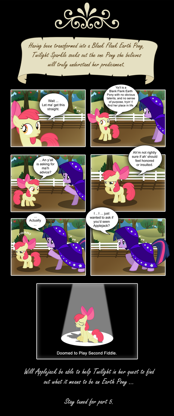 MLP: FIM - Without Magic - Part 4 by PerfectBlue97