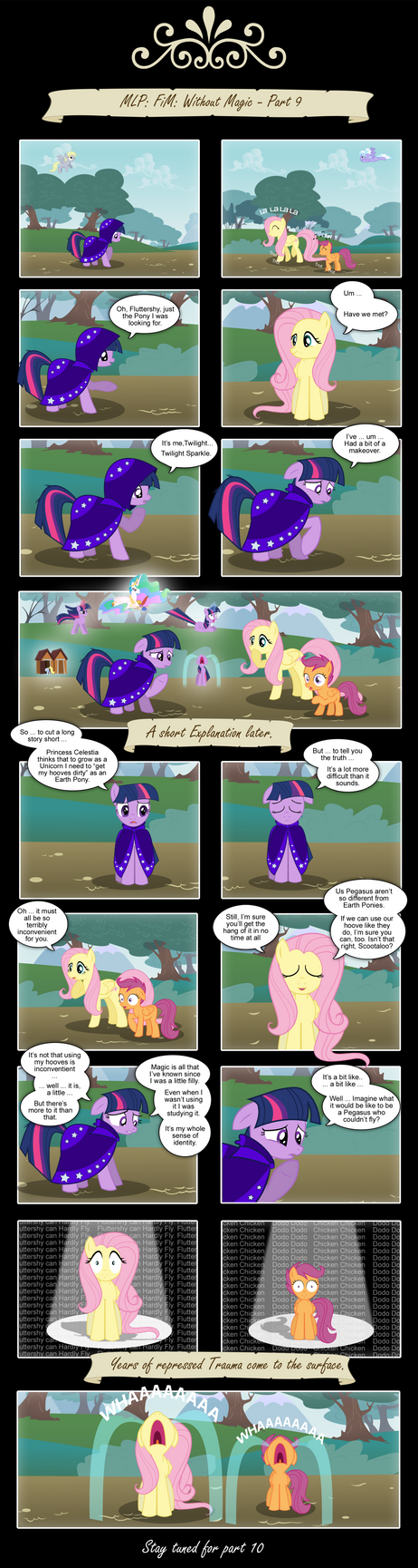 MLP: FIM - Without Magic - Part 9 by PerfectBlue97